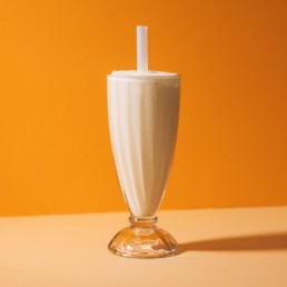 Delicious Vanilla Ice Cream Shake
