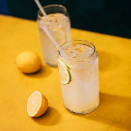 Ginger Juniper Lime Soda