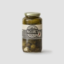 McClures spicy whole pickles - Burger Burger