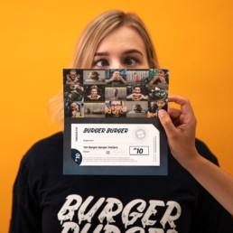 $10 Burger Burger Gift Voucher