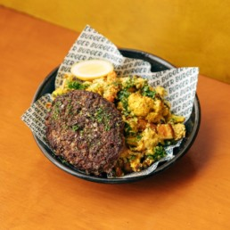 Caulipower + Beef Patty