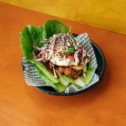 Vege 'Chicken' Katsu Bunnuce